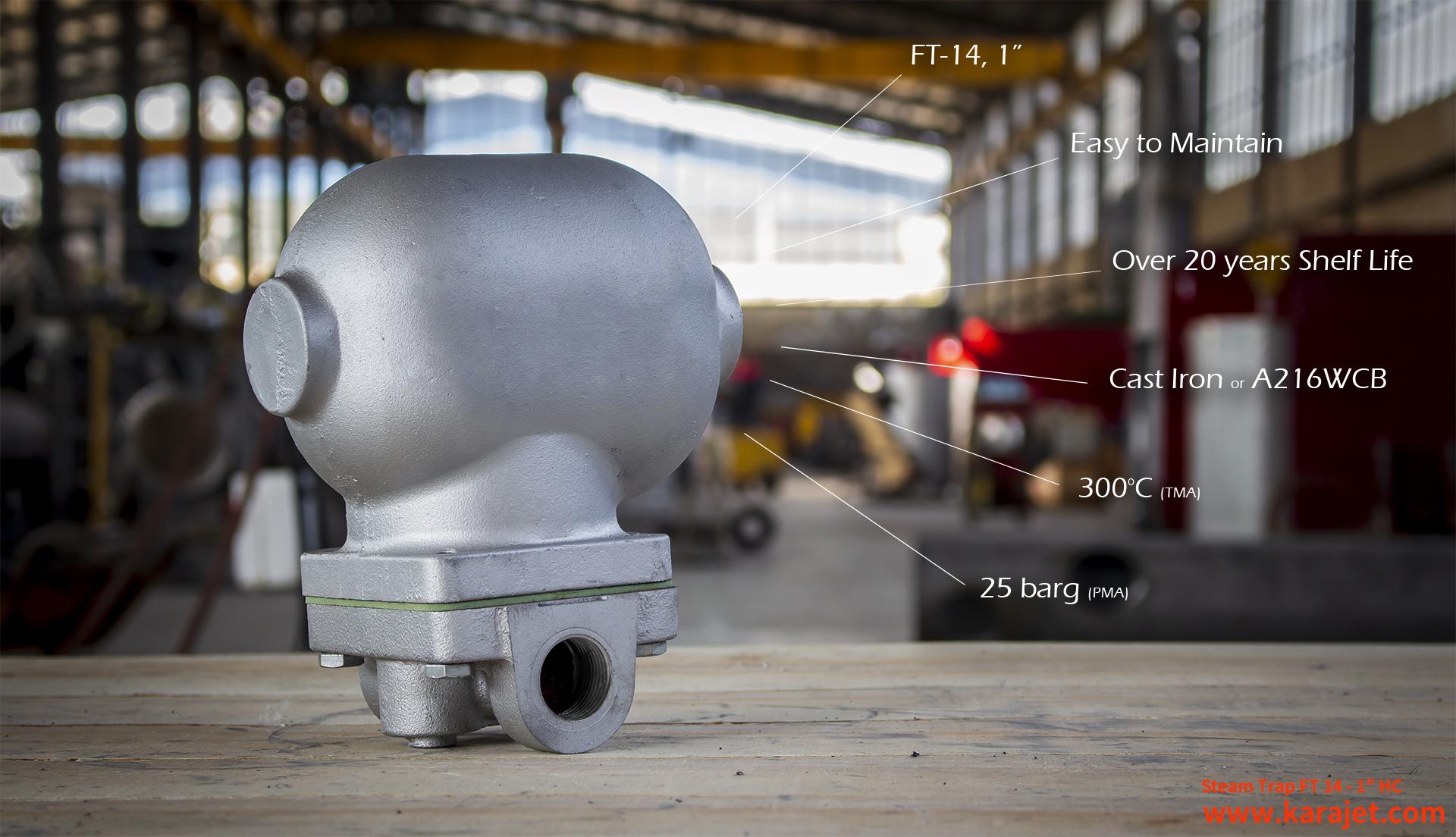 تله بخار-تله بخار مکانیکی-شرکت کارا صنعت تدبیر پایا
