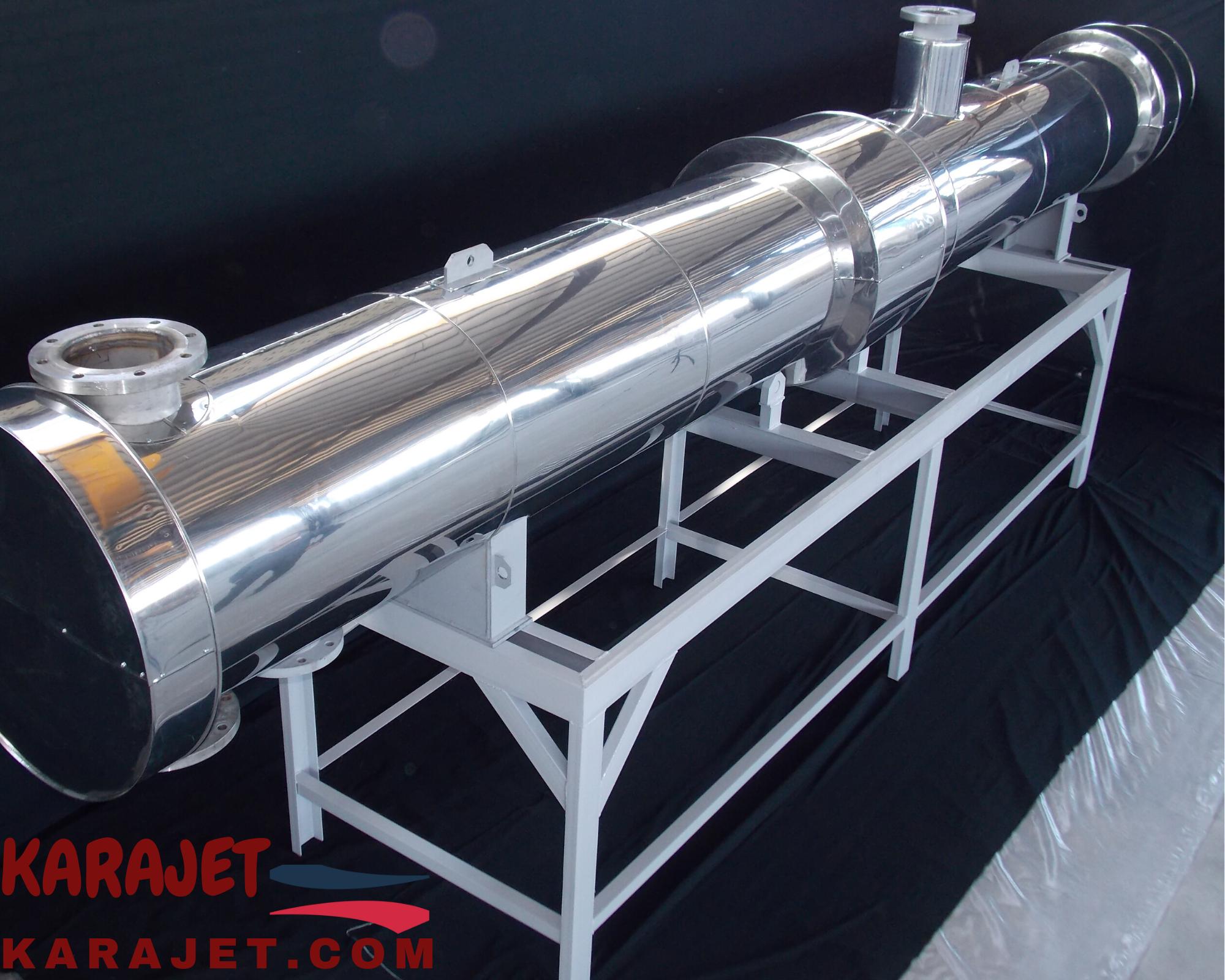 مبدل حرارتی- سفارش و خرید مبدل حرارتی- شرکت کاراجت