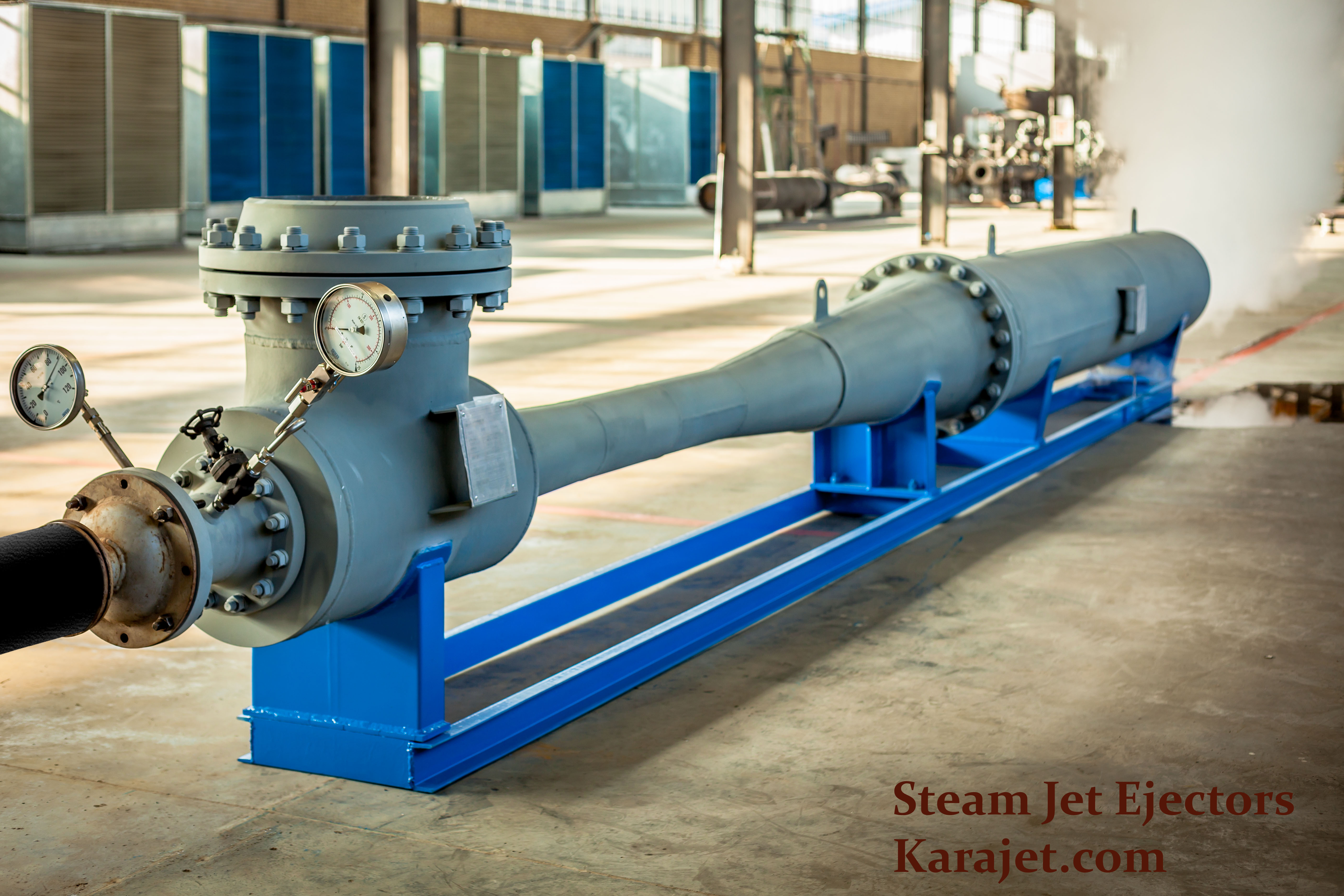 Steam Jet Ejector. Karajet.com