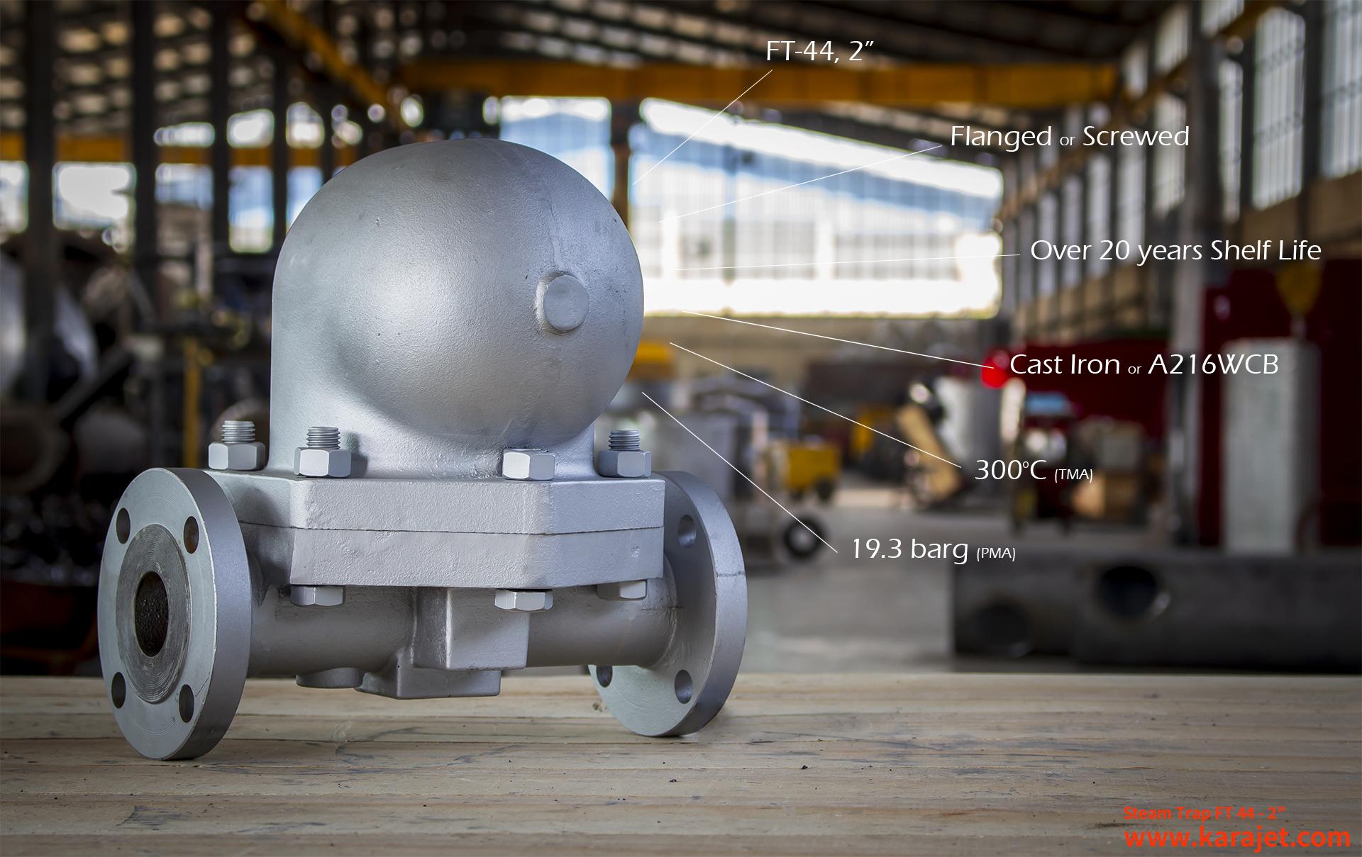 انواع تله بخار-تله بخار مکانیکی شرکت کارا صنعت تدبیر پایا