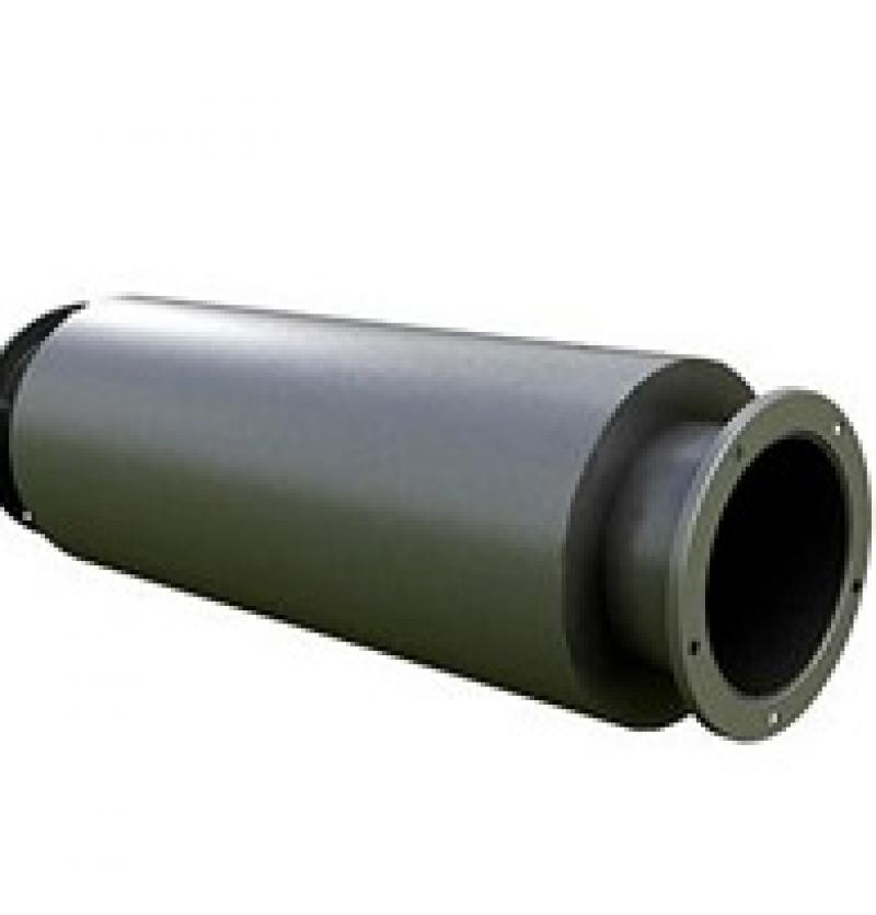 سایلنسر خطی-inline silencer